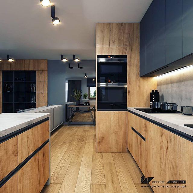Idealna Kuchnia Na Instagramie Zachwycily Nas Te Forniry Co O Nich Sadzicie Kitchen Room Design Modern Kitchen Interiors Modern Kitchen Apartment