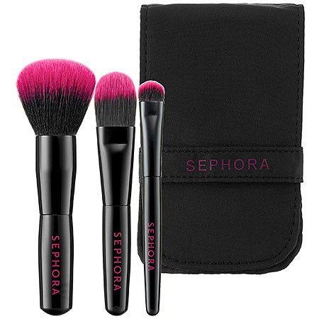 Travel Makeup Brush Set from @Sephora   Gift Ideas   Pinterest