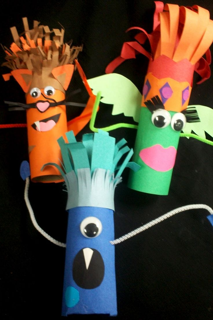 Paper Sculpture Creatures: could use TP tubes   # Pin++ for Pinterest #
