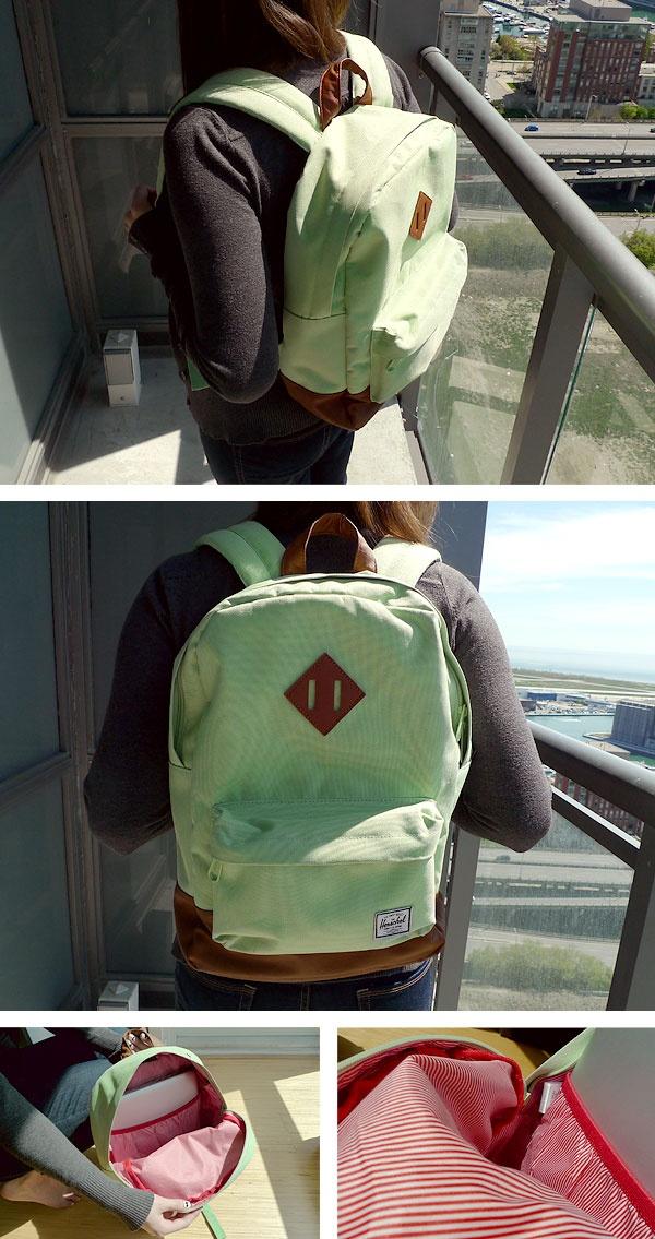 Herschel Mint Backpack