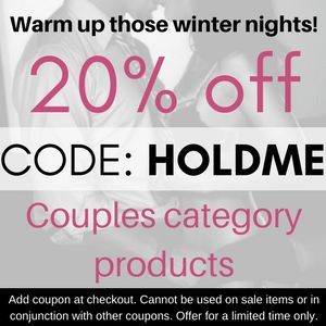 Heat each other up these cold winter nights with our #couples #sextoys and #adult accessories! 20% off with Coupon. Conditions apply. https://adultsexstore.com.au/shop-sex-toys/couples/?utm_content=bufferffcd1&utm_medium=social&utm_source=pinterest.com&utm_campaign=buffer