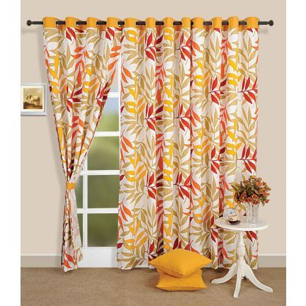Superior #Home #Furnishing Swayam Premium Eyelet Curtain With Lining This Curtain  For Doors Has An