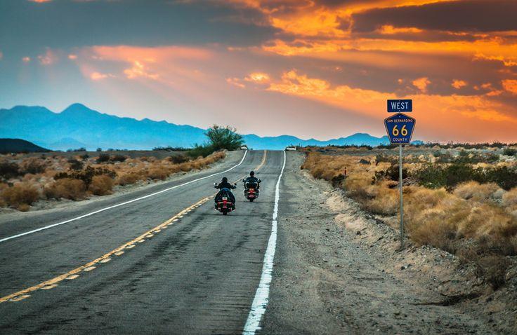 Route 66, faimosul drum din SUA.