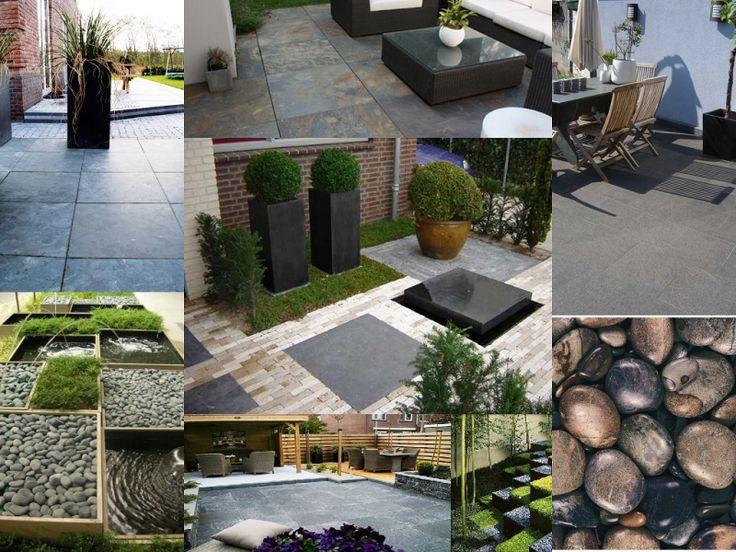 26 beste afbeeldingen over tuin inspiraties op pinterest groene daken houtopslag en tuin - Eigentijds buitenkant terras ...