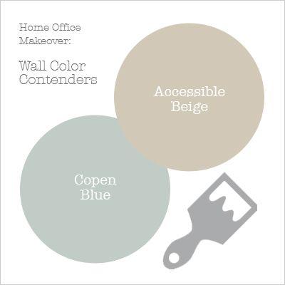 Sherwin-Williams accessible beige | got were accessible beige and copen blue from sherwin williams
