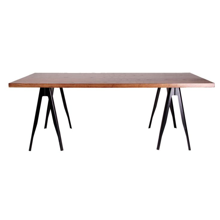 Trestle Dining Table | Clickon Furniture | Designer Modern Classic Furniture normally $795 1900 long