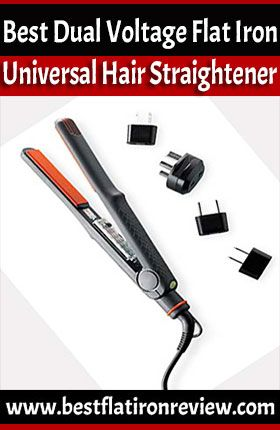 Dual Voltage Flat Iron, the iron that can be used anywhere around the world.Best Dual Voltage Flat Iron Universal Hair Straightener for international travel