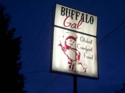 On your way to McCall, Idaho, get Global Comfort Food at Buffalo Gal.  Great food in Idaho! #tmom @erodg: Buffalo Gal, Lockhart Rodgers, Mccall 2013, Tmom, Comforter Food, Elizabeth Rodgers, Pacific Northwest, Global Comforter, Elizabeth Lockhart
