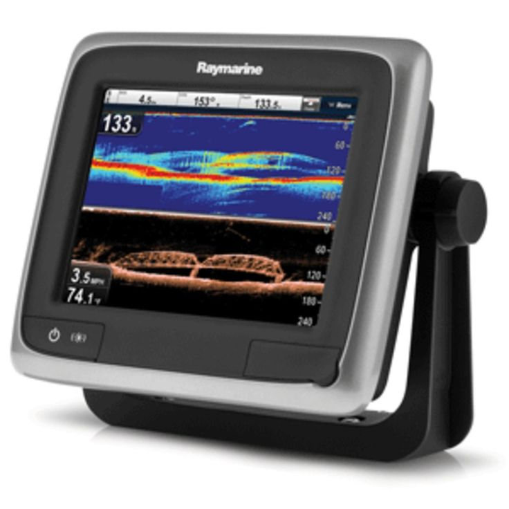 Raymarine a68 5.7 Combo GPS/Fishfinder Downvision with