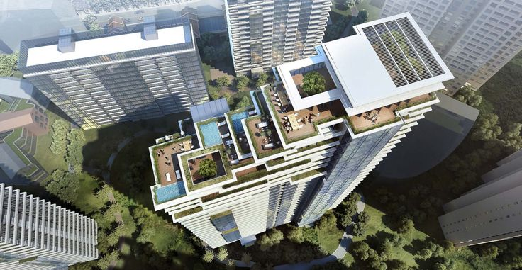 Gallery of CITIC Pacific High-Rise Development in Shanghai Beautifully Combines Natural With The Artificial - 3