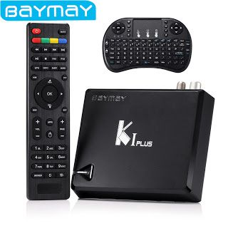 [Genuine] K1 Plus T2S2 smart Android TV Box Amlogic S905 Quad Core 64-bit 1GB8GB KI Support DVB-T2 DVB-S2 Android 5.1 OS (32791607309)  SEE MORE  #SuperDeals