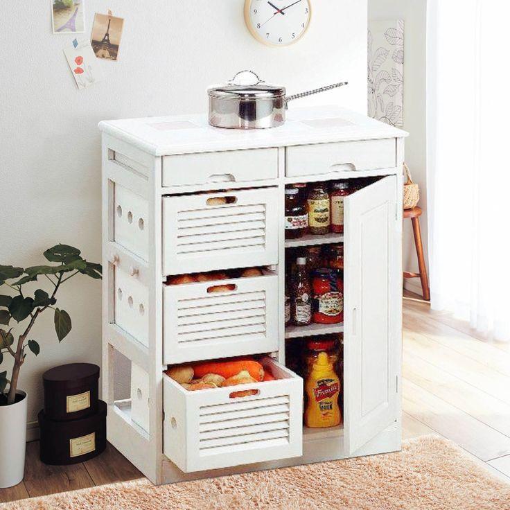 Hogar Yat madera sencillo y moderno aparador gabinete de cocina vegetal condimento gabinete despensa armario armarios de comedor mesa auxiliar en Armarios de Madera de Muebles en AliExpress.com | Alibaba Group