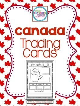 $Canada Trading Cards: Provinces & Territories