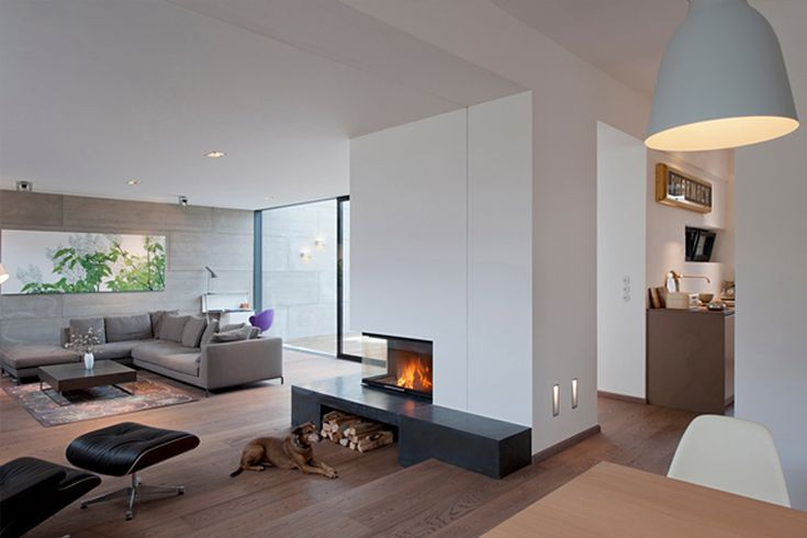Open floor plan - modern yet homey