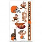 Cleveland Browns Temporary Tattoos #Cleveland #Browns #ClevelandBrowns #Memorabilia #Sports #Merchandise #Football #NFL | Order Today At http://www.sportsnutemporium.com/ For Only $1.95