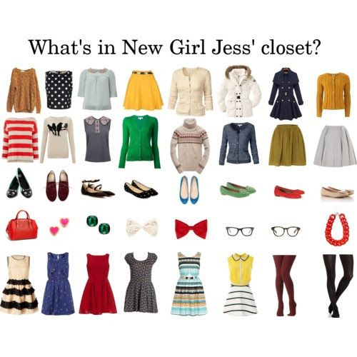 New Girl fashion... Love very bit!