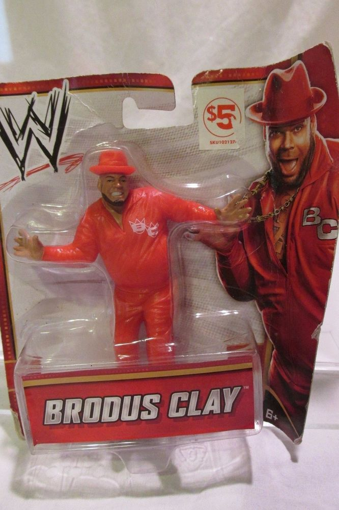 Brodus Clay Mattel 2012 Toy Figurine Sealed #Mattel