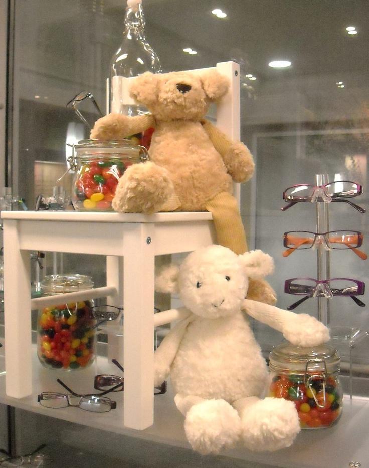 Kids #eyewear display. #merchandising ideas. Dino Vespi