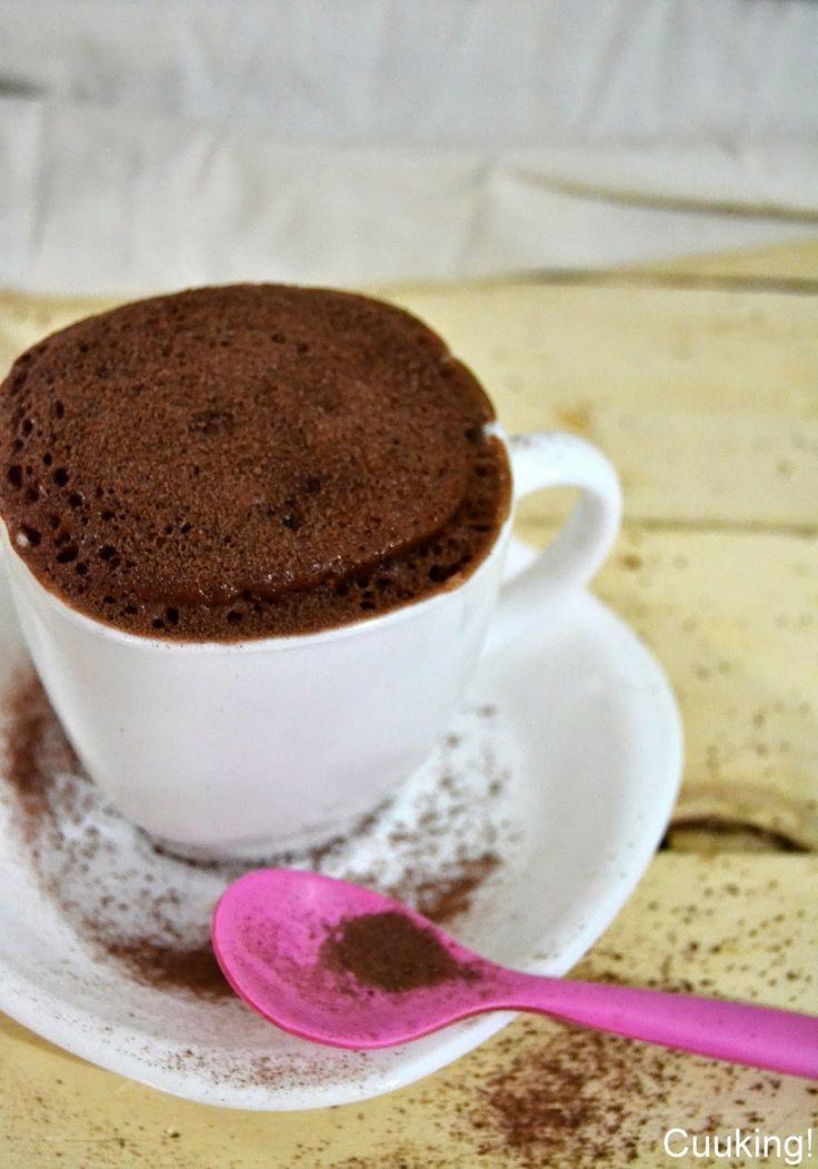 Cuuking!: Mug cake de ColaCao (bizcocho en taza al microondas)