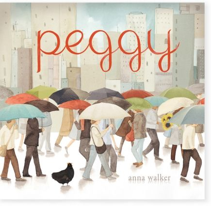 "Early Childhood.  This is the story of a brave chicken on a big adventure. Peggy lives in a small house in a quiet street.  One blustery day a big gust of wind sweeps down and scoops up leaves,twigs and . . . Peggy!  You will need to google ""scholastic peggy.doc"" for teachers notes."