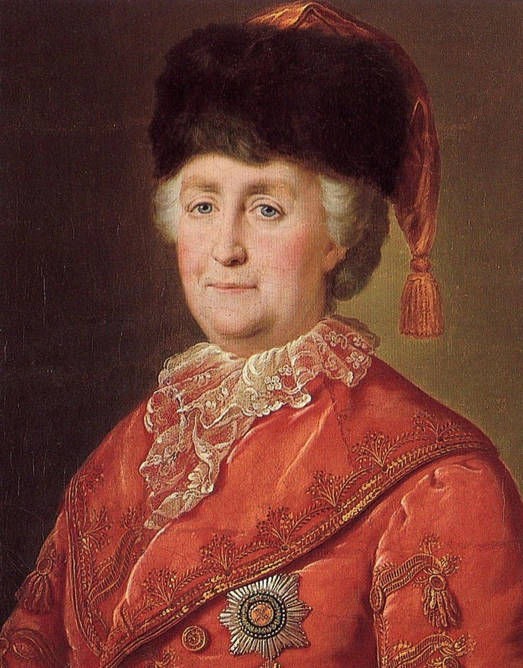 Catherine The Great she was one of the best rulers of Russia and also the last great szar of Russia