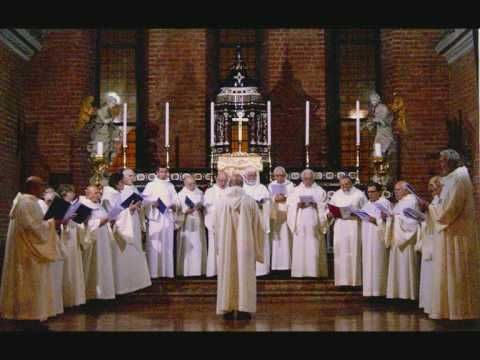 ▶ Canto Gregoriano CREDO IN UNUM DEUM, Schola Gregoriana Mediolanensis, Dir. Giovanni Vianini - YouTube
