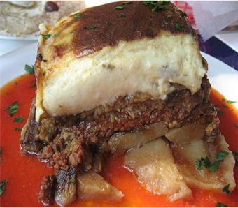 Site of ancient greek recipes - This is greek mousaka