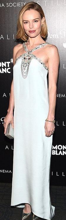 Kate Bosworth: Dress – Oscar de la Renta  at the screening of 'Still Alice' in New York City. (January 13, 2015)