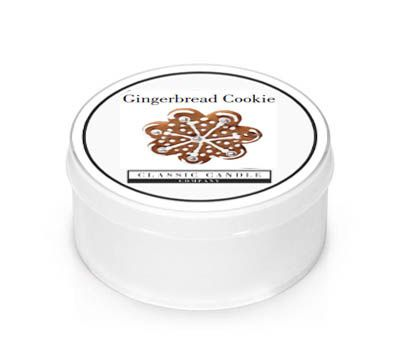 Gingerbread Cookie  Classic Candle  Mini light