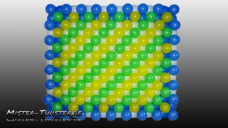 How to make a balloon wall, Anleitung für eine Ballon Wand, decoration, ...