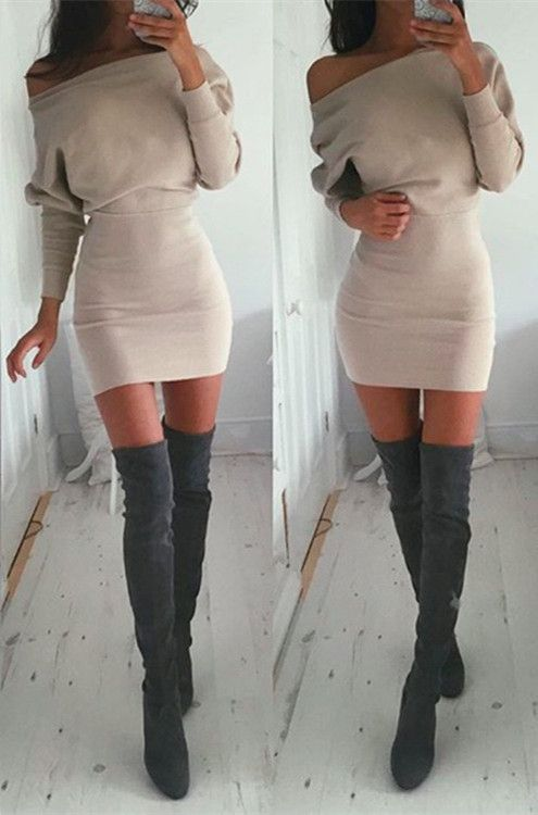 Best 25 sweater dresses ideas on pinterest knit sweater for Can i wear a sweater dress to a wedding