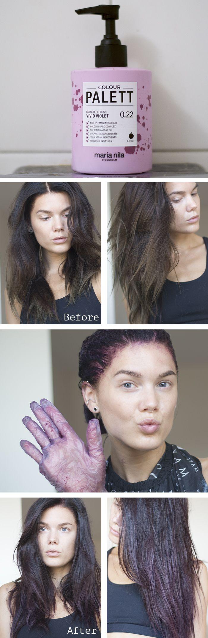 Projekt lila hår, version 2.0