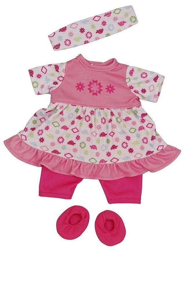 Kleidung & Accessoires Puppen & Zubehör Puppen Kleidung Kleid Leggings Tasche für 32 cm Schlummerle Schildkröt 32714...