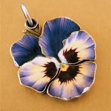silver pansy