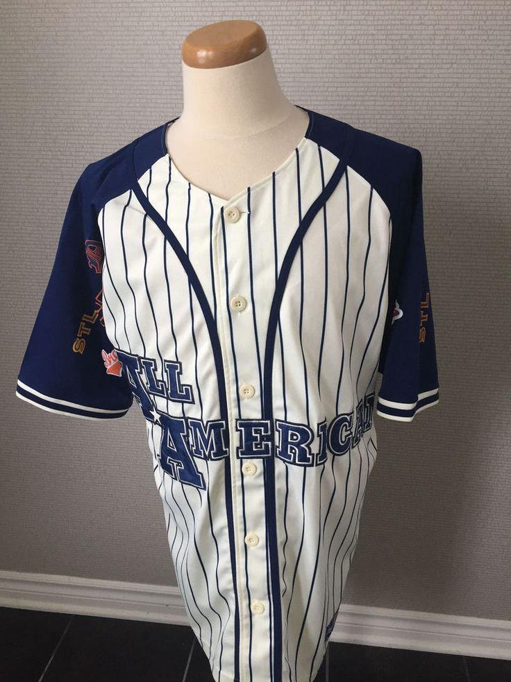 Legendary Classic All American Team Apparel Baseball Jersey Underdawg Size Large #Underdawg #AllAmerican
