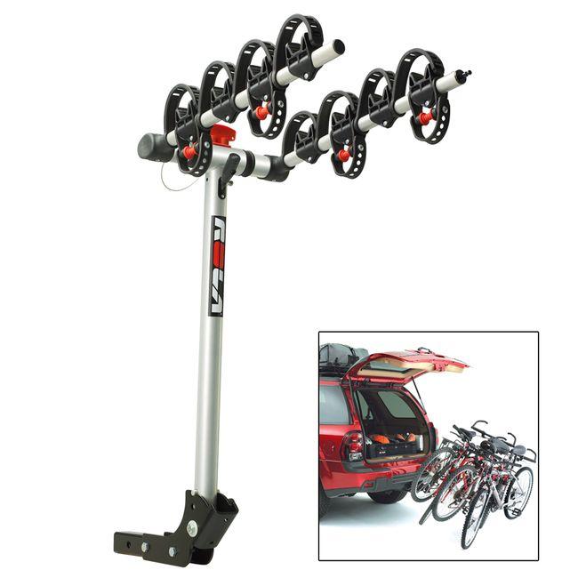 ROLA Bike Carrier - TX w/Tilt & Security - Hitch Mount - 4-Bike [59401]