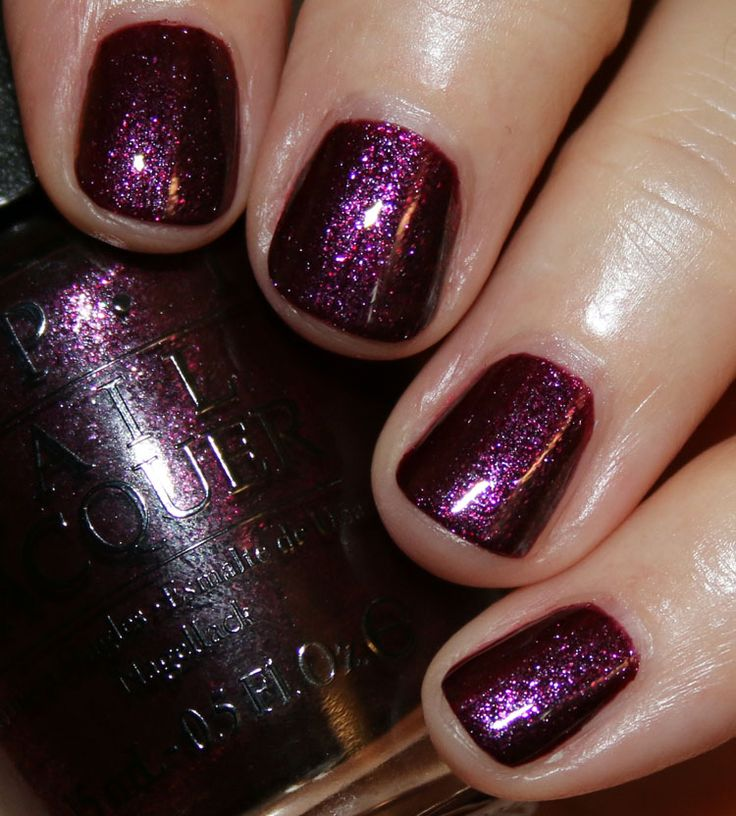 "OPI ""Rich and Brazilian"" from Breakfast at Tiffany's Collection 2016"