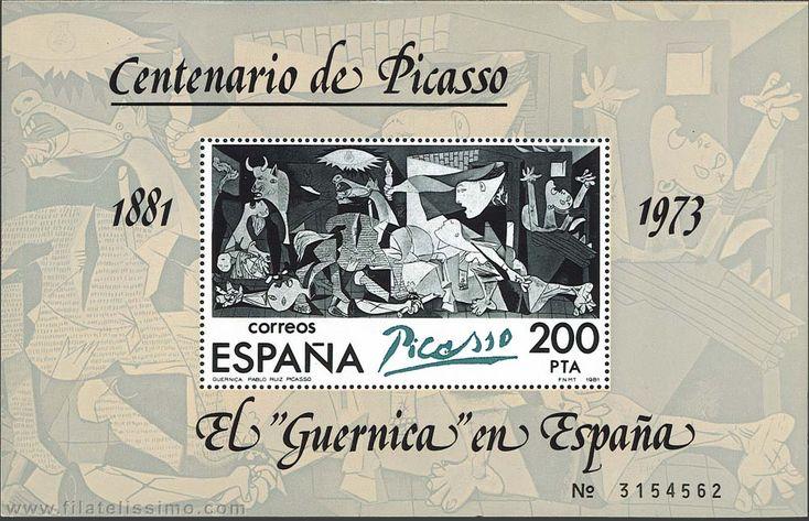 """El """"Guernica"""" en España."""