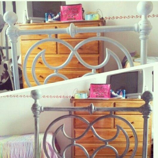 New look #diy #bed #bedroom  #white