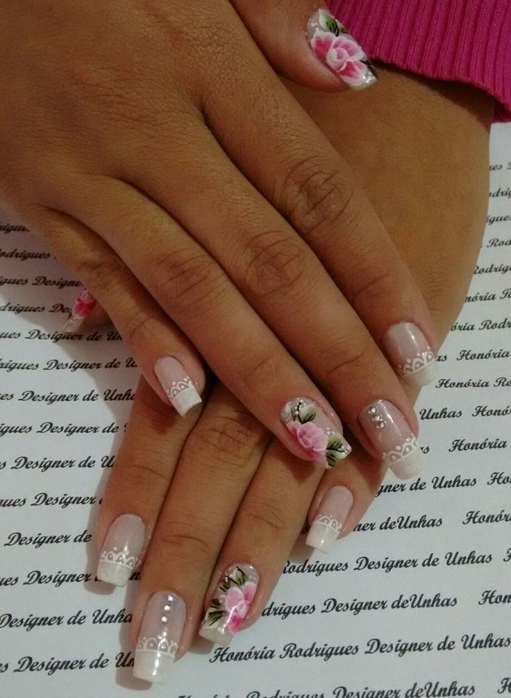 Unhas decoradas #nailpolish