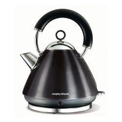 Morphy Richards Accents pyramide elkedel, sort, 1,5 liter