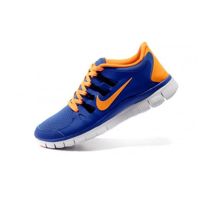 huge selection of 15916 bfafc NIKE FREE 5.0+ BREEZE Mens Running Shoes BlueOrange 579959 ... kohls ...