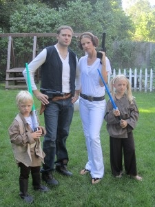 Star Wars costumes - looks very simple
