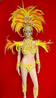 Da-NeeNa-C076-Samba-Parade-Drag-Carnival-Rio-Dancer-Headdress-Costume-Set-XS-XL