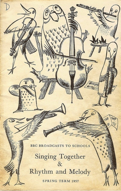 underrated and truly brilliant, artist and illustrator Barbara Jones
