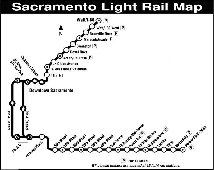 Sacramento's Light Rail: Success in a Small City