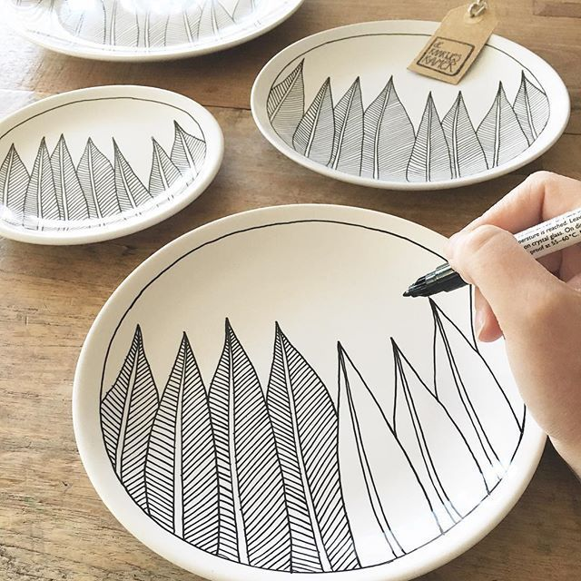 Handmade plates – #carving #handmade #plates