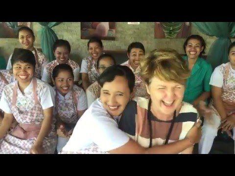 Staff form Ubud with Sonya