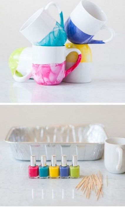 M s de 25 ideas incre bles sobre tazas pintadas en - Tazas decoradas a mano ...