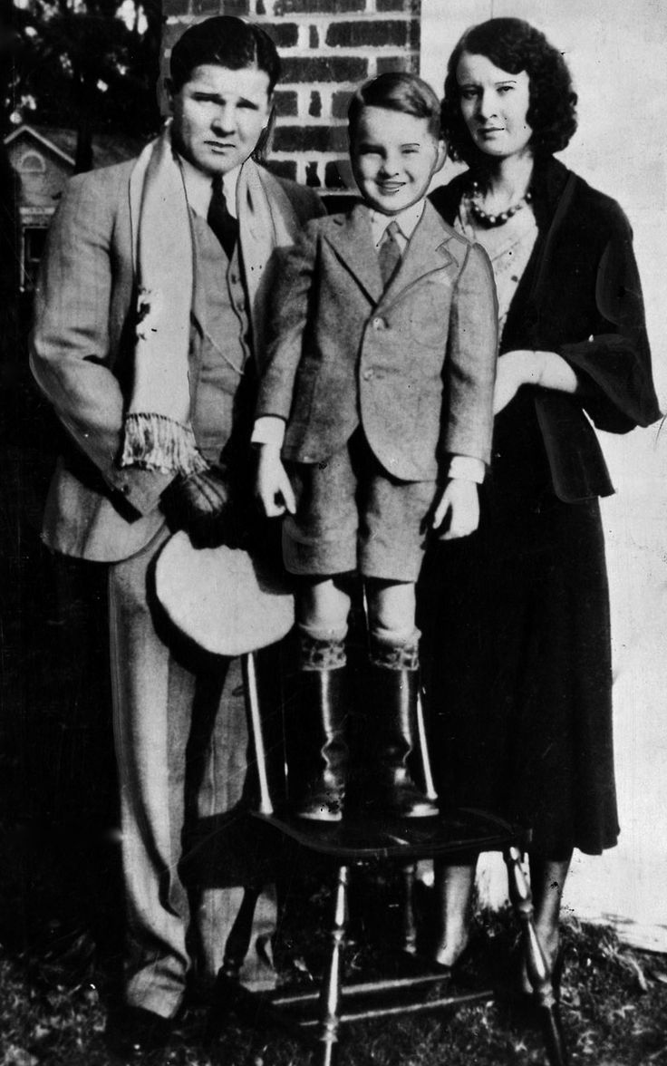 "Charles ""Pretty Boy"" Floyd, his son Jack Dempsey (""Jackie""), and his ex-wife Ruby. Two months before he got out from his prison stint, he found out Ruby filed for divorce on the grounds of neglect. He was told he could contest the divorce, but he knew he may not have it in him to go straight yet so he decided not to contest the divorce. 